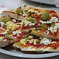 Pizza mimosa maison