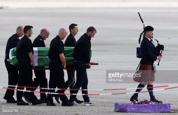 Eilidh MacLeod's Funeral Held On Isle of Barra