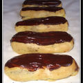 Eclairs au chocolat...