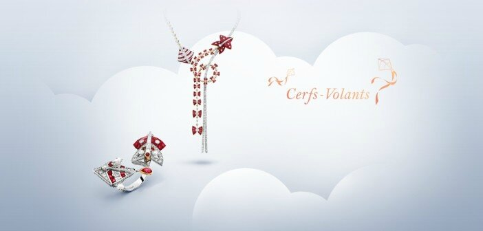 Van Cleef & Arpels's latest 'Cerfs-Volants' collection