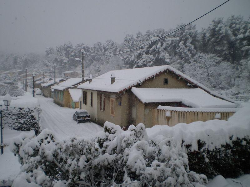 sous la neige 7 janvier