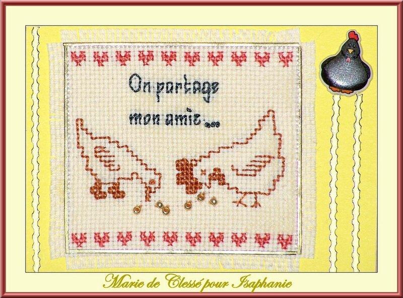 Échange ATC Perso (Les Animaux de la ferme) Marie de Clessé pour Isaphanie (1)