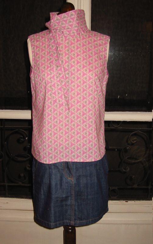 chemisier foulard