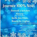 Journée 100% noël - samedi 7 octobre mouxy(73)
