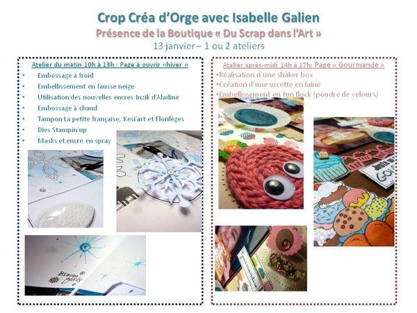 Crop 2013 avec Isabelle Galien