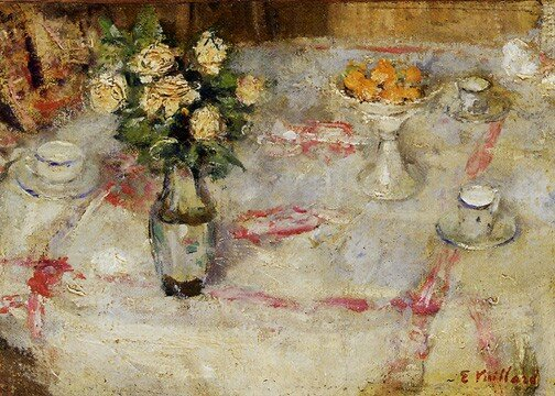 Edouard Vuillard - Table dressée