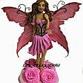 Pink rose faery