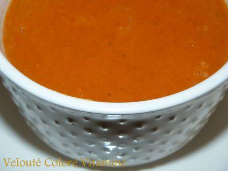 Velouté coloré vitaminé3
