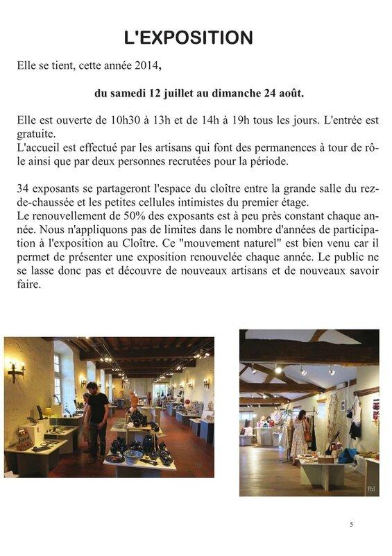Dossier de presse Chalais 5