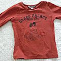 T-shirt ooxoo parfait etat 5ans (touché doux ) : 8euros