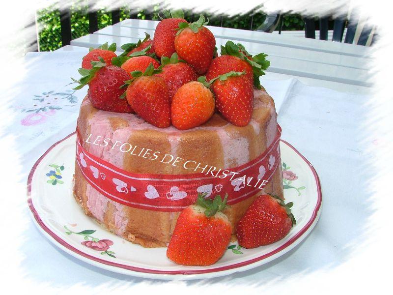 Charlotte aux fraises 5