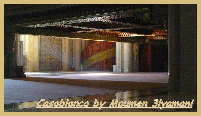 Souterrain de la Mosquée Hassan II Casablanca