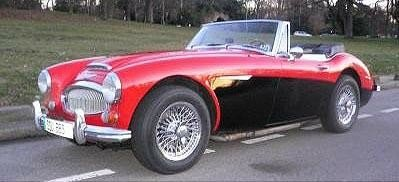 Austin Healey 3000 BJ8 phase 2 MK3 - 1967