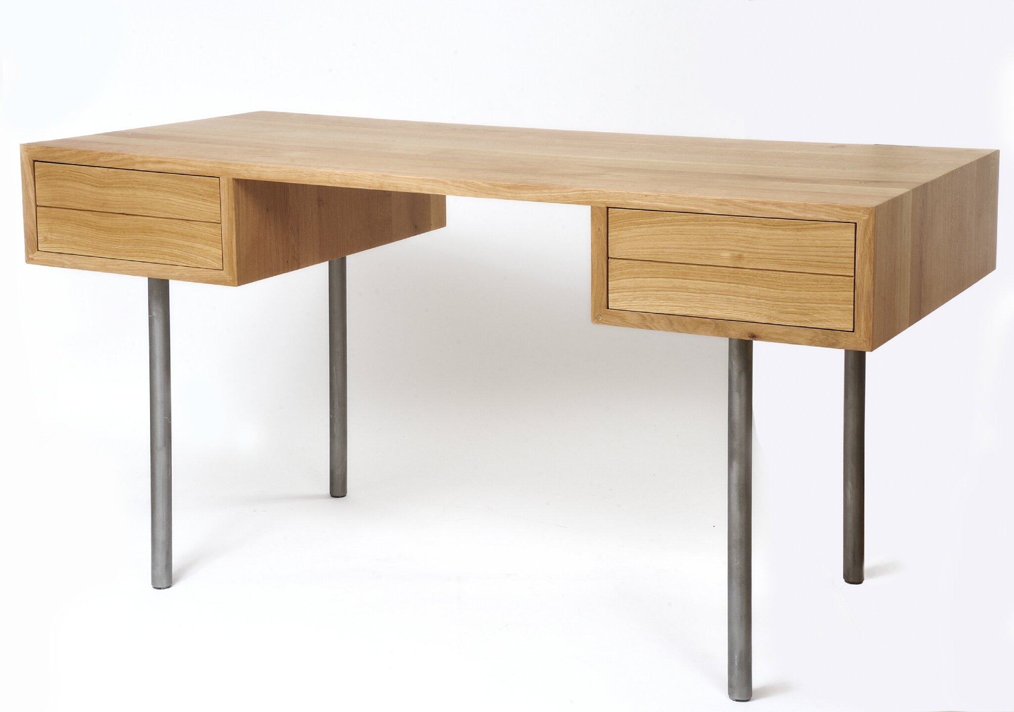 Meubles contemporains de cr ateur for Petit bureau en bois