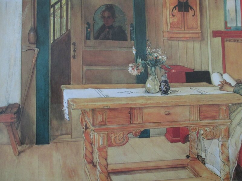 Le Repos dominical 1900 Carl Larsson