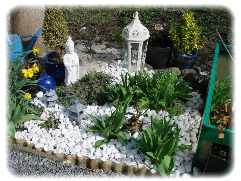 petit tour au jardin des nouvelles de moi amenager un coin zen dans le - Amenager Un Coin Zen Dans Le Jardin