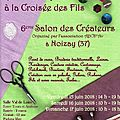 C'est le 6 ème salon des créateurs de noizay !