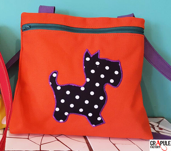 sac fille aiko orange chien1600 6001