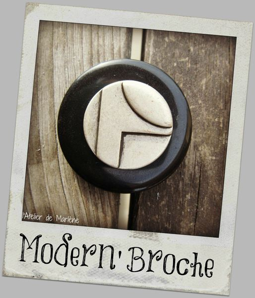 modern'broche