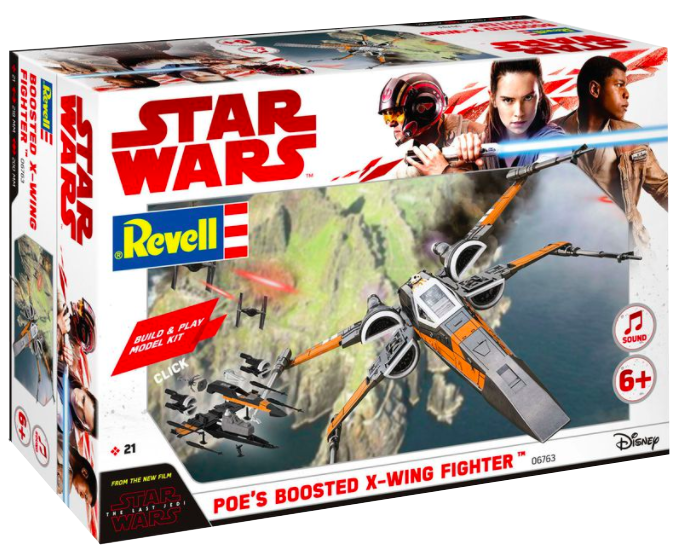revell poe boosted box