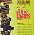Salon du livre de liffré 2012