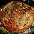 rouelle de porc au barbecue d'hiver..