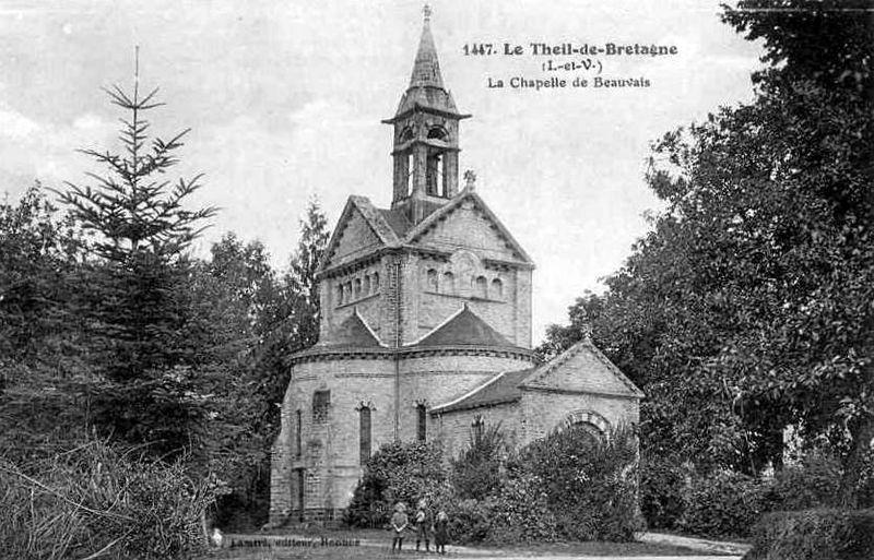 Le Theil de Bretagne, ND de Beauvais