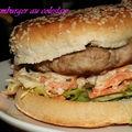 Burger au coleslaw