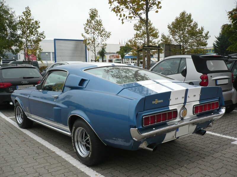 FORD Mustang Shelby Cobra GT350 fastback 1967 Mannheim (2)