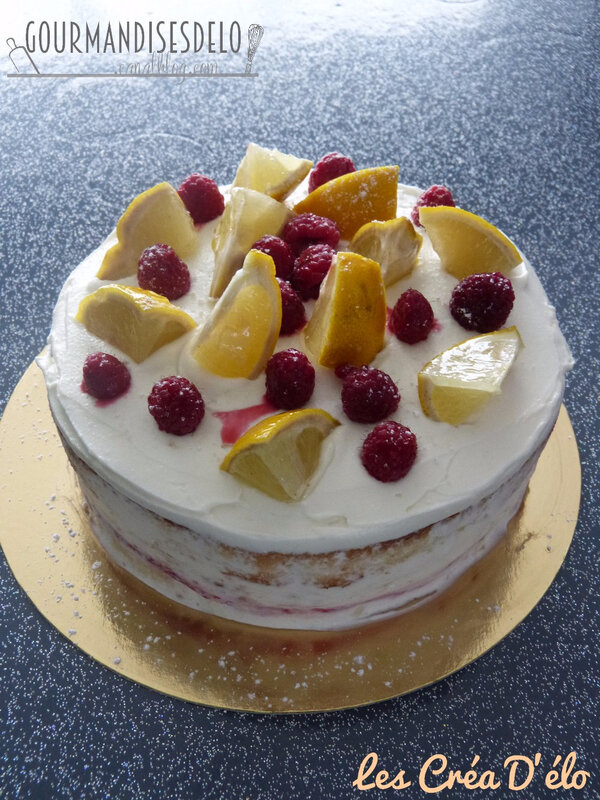Croustillant 3 chocolat et Naked cake framboise citron (12)
