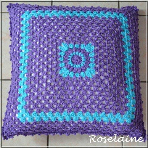 Roselaine 109 cushion coussin sunburstl Zeeman