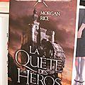 L'anneau du sorcier : la quête des héros (tome 1), de morgan rice
