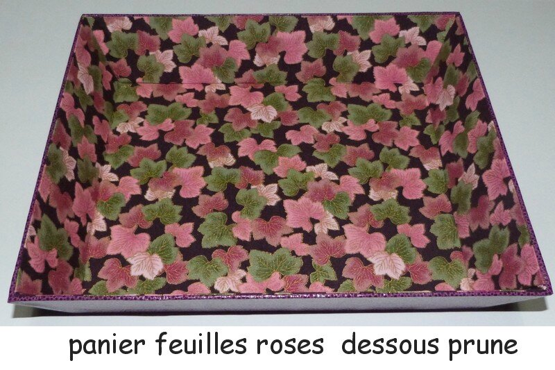 panier feuilles roses dessous prune blog