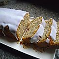 Cake au citron et à la noisette
