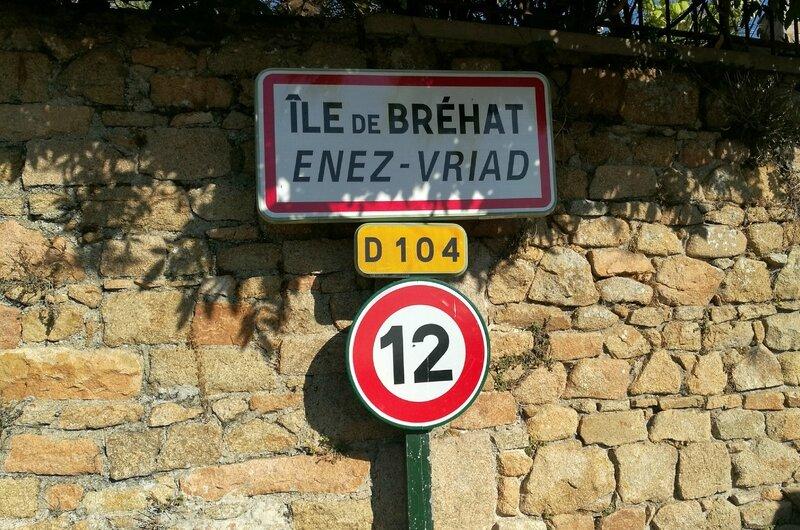 Île de Bréhat, panneau (22)
