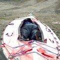 chargement du kayak