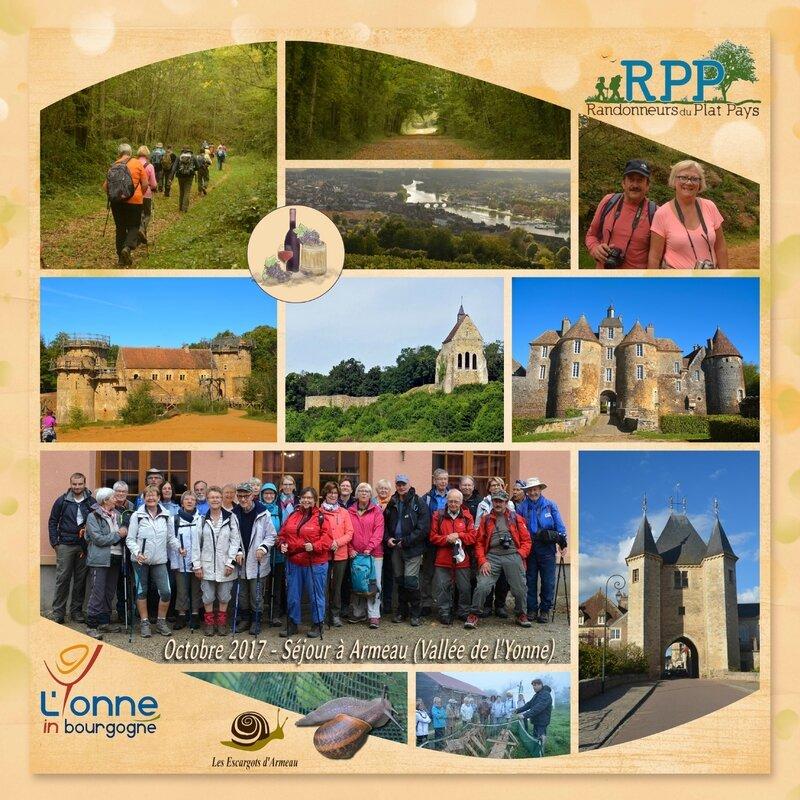 2017 - Séjour RPP dans l'Yonne