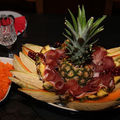 ananas charcuterie et fruit rafraichis