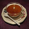 Dessert vanille et sirop d'érable