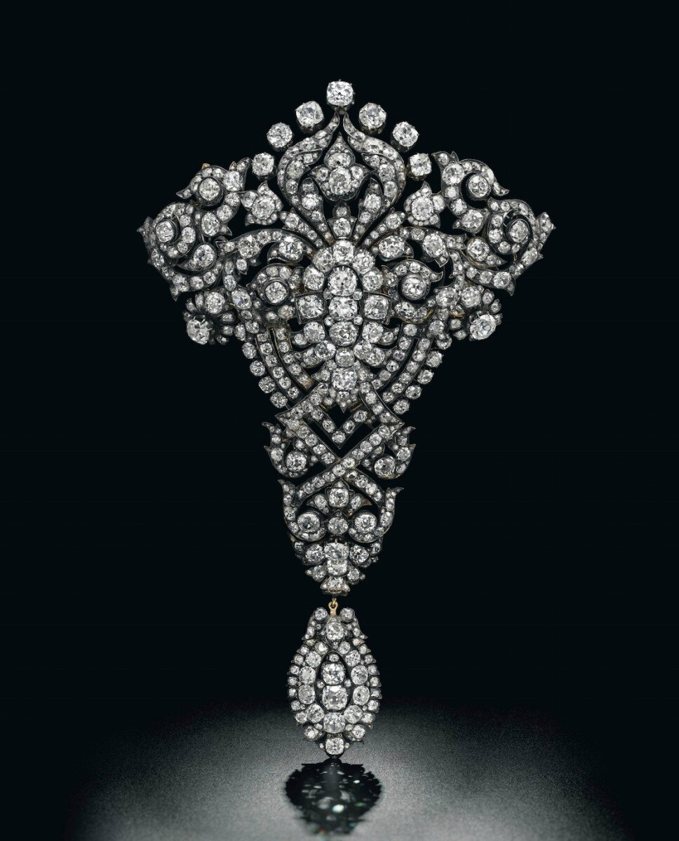 The Maria Christina Royal Devant-de-Corsage Brooch, circa 1879