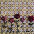 Petites roses pour pique-aiguilles