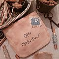 Olde Clothespins Pouch US $ 8.00