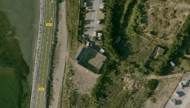 Cine Cap Sud 11 Leucate Google Earth 2012