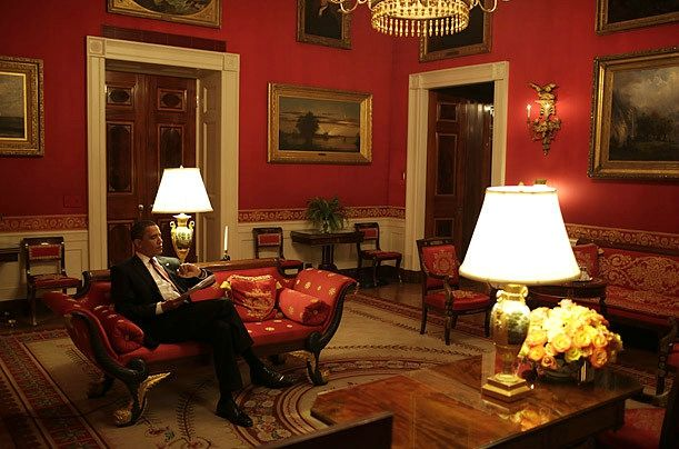 redroom-MAISON BLANCHE Mr OBAMA