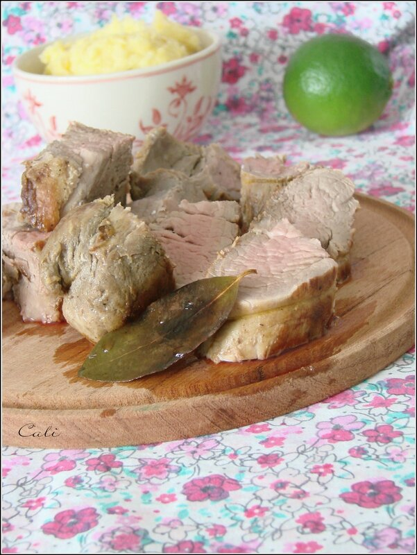 Filets Mignons à la Cachaça & Purée de Pommes de Terre au Maïs 002