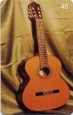 Télécarte Brésil Guitare classique