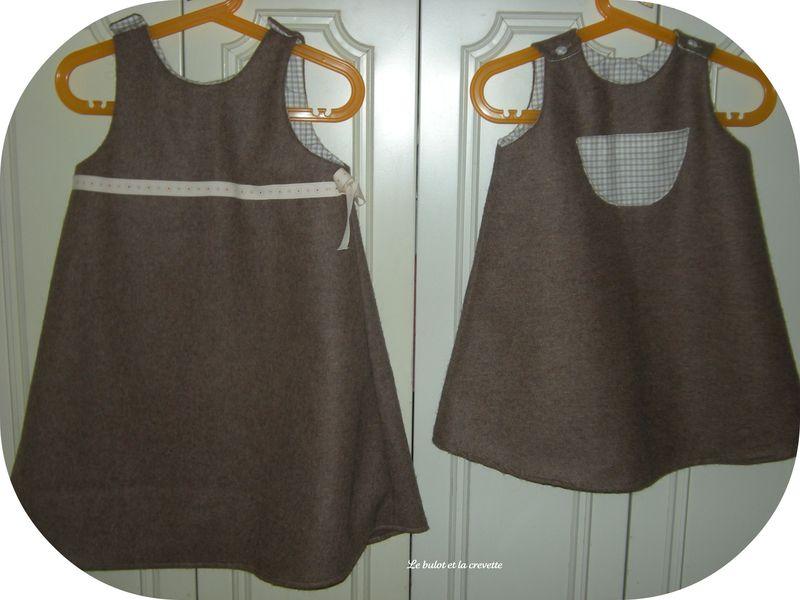 robe trap ze des intemporels pour enfants photo de en couture le bulot et la crevette. Black Bedroom Furniture Sets. Home Design Ideas