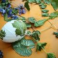 Du 100% nature pour nos oeufs de pâques...