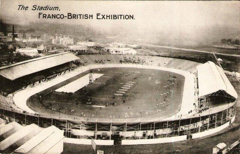 CPA Londres Stade White City
