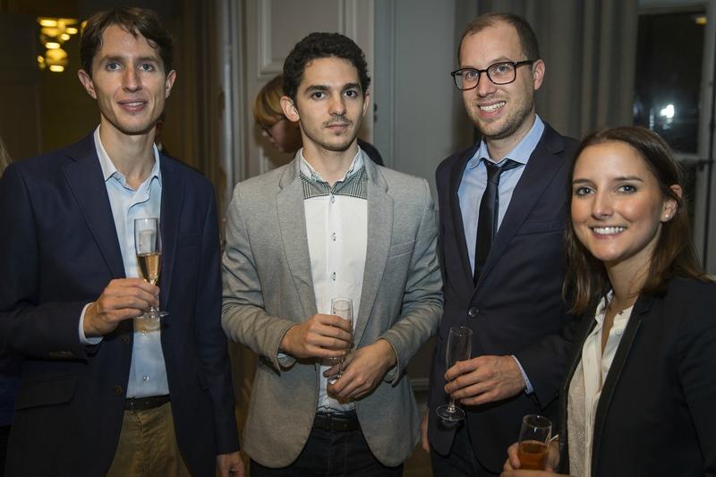 Benoit Repoux, Paul Lamoureux, William Dubreuil et Laura Penanguer